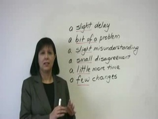 Business English - How to minimize problems